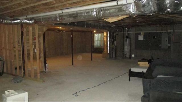 East Hampton Basement Waterproofing Job