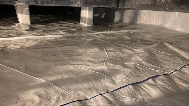 Crawl Space Vapor Barrier In Massapequa