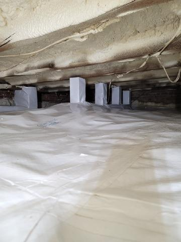 Bellmore Crawl Space Vapor Barrier