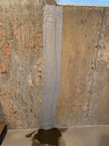 Basement Wall Crack Repair In Greenport