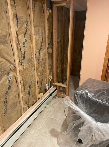 Rockville Centre Basement Waterproofing - Before Photo