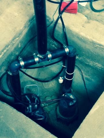 Old Pump System Replaced with SuperSump in Huntington, NY