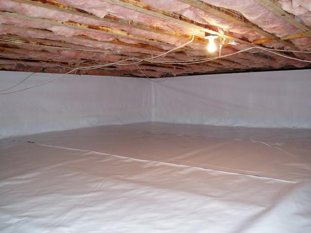 Crawl Space with CleanSpace