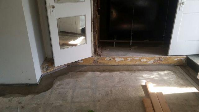 Water Seeping Through Floors in Long Beach is Fixed - After Photo
