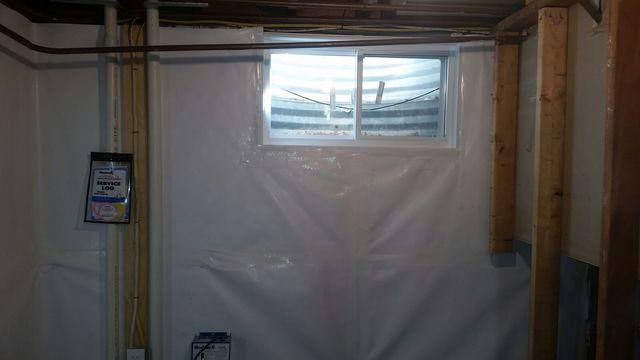 WellDuct Window Drain System Installed in Hauppauge, NY