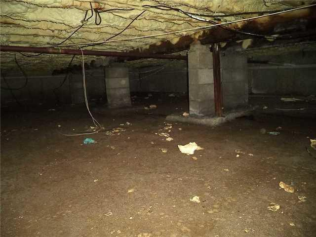 Smithtown, NY - Ugly crawl space turned to beautiful in just 1 day!