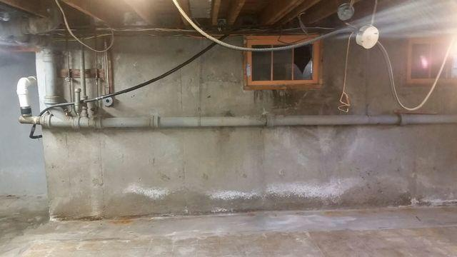 Installed Vapor Barrier for a Home in Hauppauge, NY