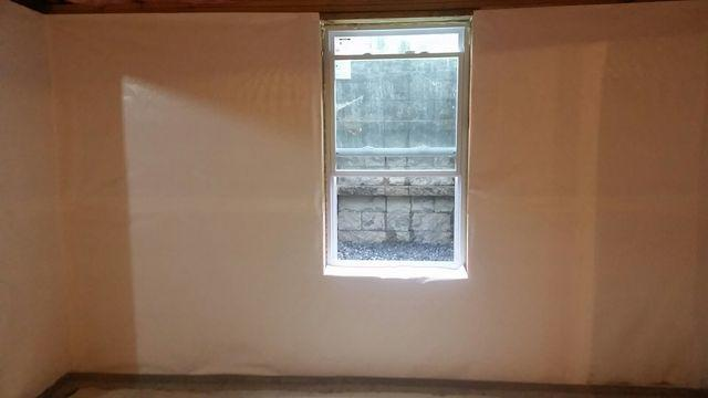 Waterproofing and Vapor Barrier on Walls in Selden, NY