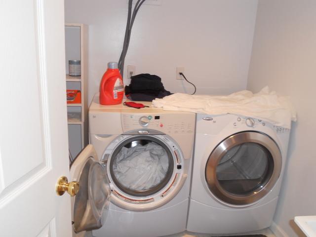 Finishing Laundry Room