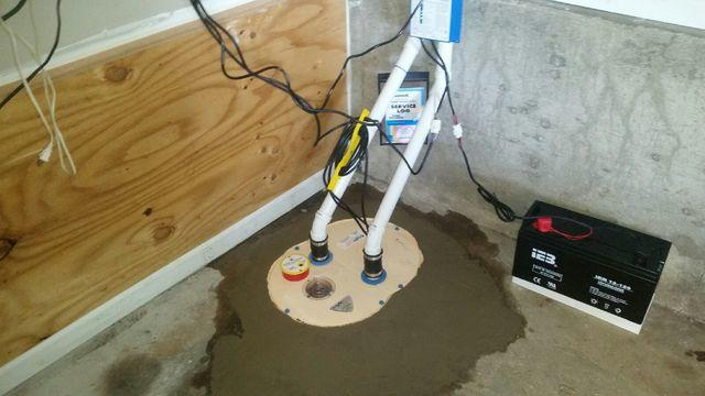 TripleSafe Sump Pump Installed in West Islip, NY