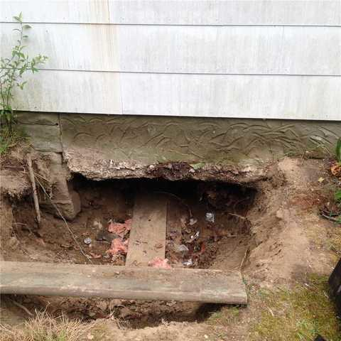 New Crawl Space Entry Installed in Rocky Pointe, NY