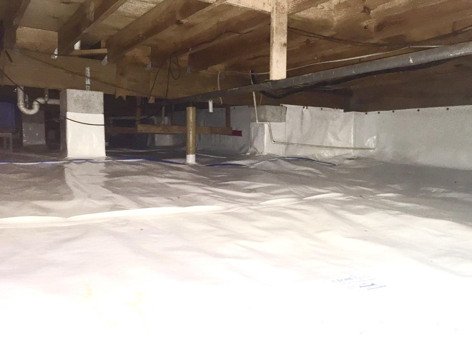 Crawl Space Encapsulation in Tallahassee, FL  - After Photo