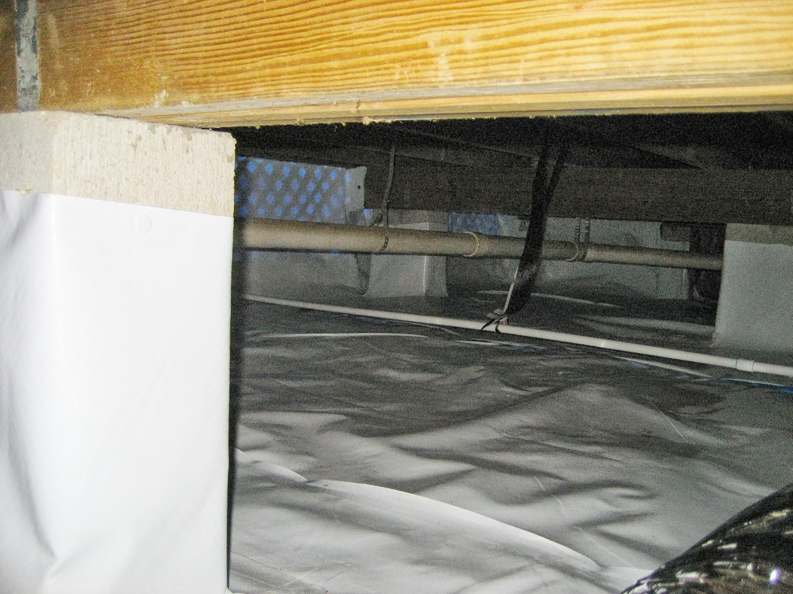 Moldy Crawl Space Repaired in Tallahassee, FL - After Photo