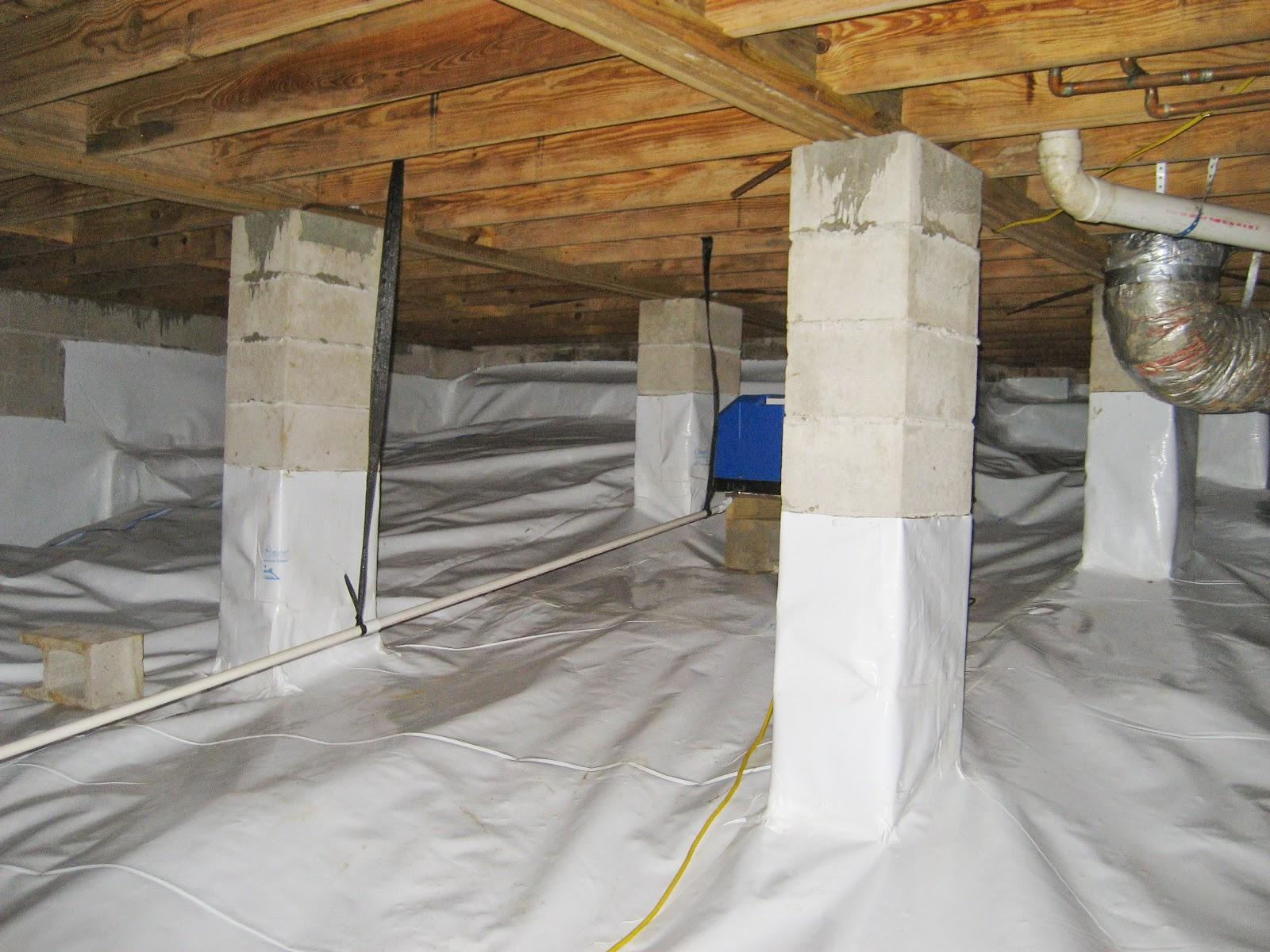 Crawl Space Encapsulation in Tallahassee, Florida - After Photo