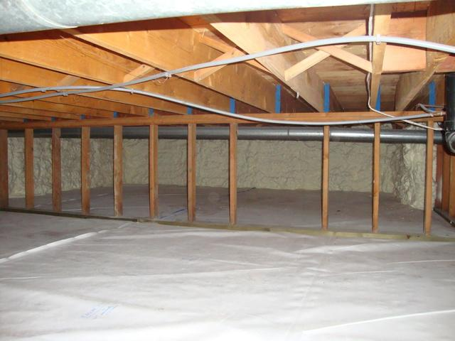 Crawl Space Repair in Victoria, BC! - After Photo