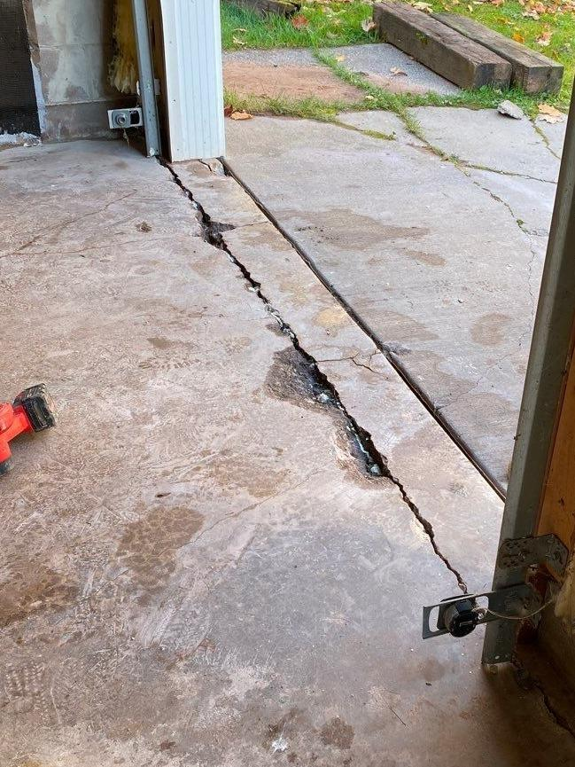 Uneven Concrete Garage Floor in Chassell, MI - After Photo
