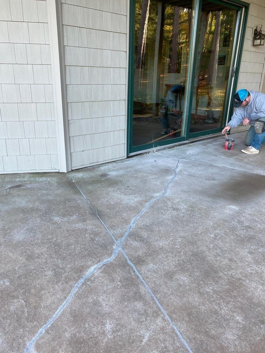 PolyLevel and NexusPro Joint Sealant in Eagle River, WI - After Photo