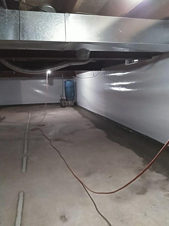 Waterproofing and CleanSpace Wall System in Chatham, MI - After Photo