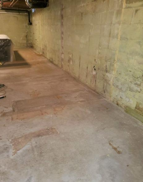 Waterproofing & Insulating A Basement in Rhinelander, WI - Before Photo