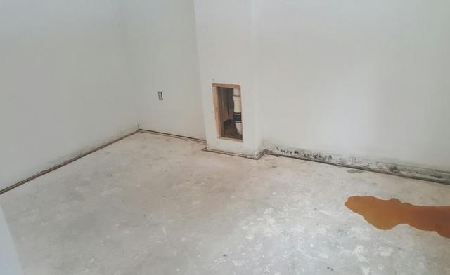 Wet Moldy Basement Restored in Marquette, MI