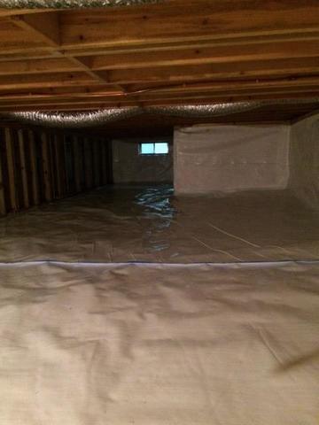Crawlspace Encapsulation in Woodruff, WI