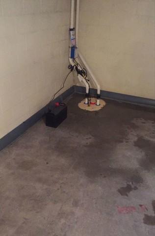 DryTrak Drainage System Installed in Marquette, MI
