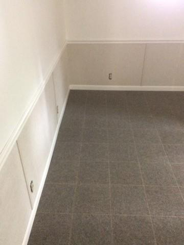 Damaged basement room Waterproofed and Restored in Florence, WI