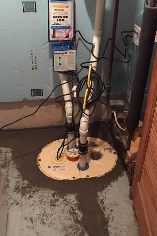 More Protection Against Water with TripleSafe Sump System in Conover, WI