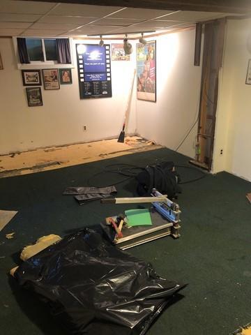 Carpeting Suitable for a Basement Floor