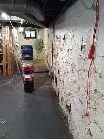 Ironwood, MI Basement Restored