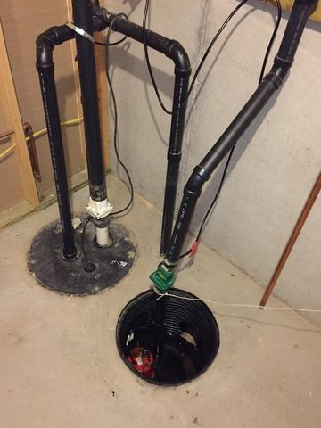 New Sump System Installed in Manitowish Waters, WI
