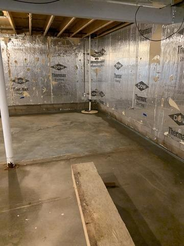 Waterproofing a Basement in Gwinn, MI