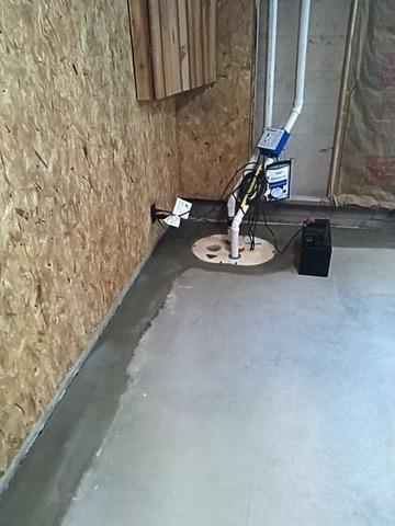 TripleSafe Sump Pump Installed in Marquette, MI