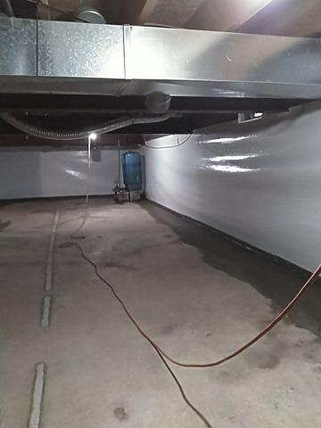 Waterproofing and CleanSpace Wall System in Chatham, MI