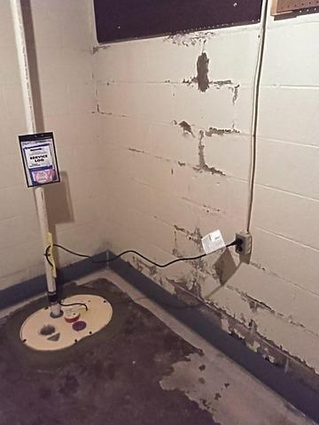 Installing Our DryTrak & SuperSump Pump System in Marquette, MI