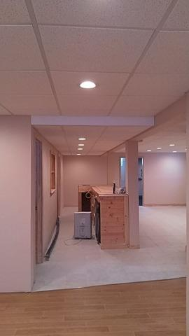 Installing a Dropped Ceiling in Negaunee, MI