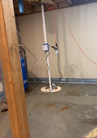 TripleSafe Sump System Installed in Rapid River, MI