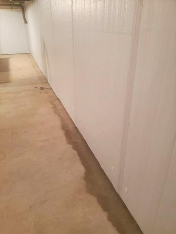 Waterproofing & Insulating A Basement in Rhinelander, WI - After Photo