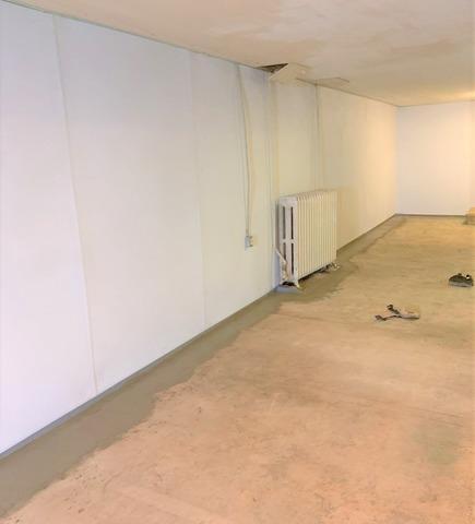 Basement Waterproofing & BrightWall Wall System Installed in Ishpeming, MI