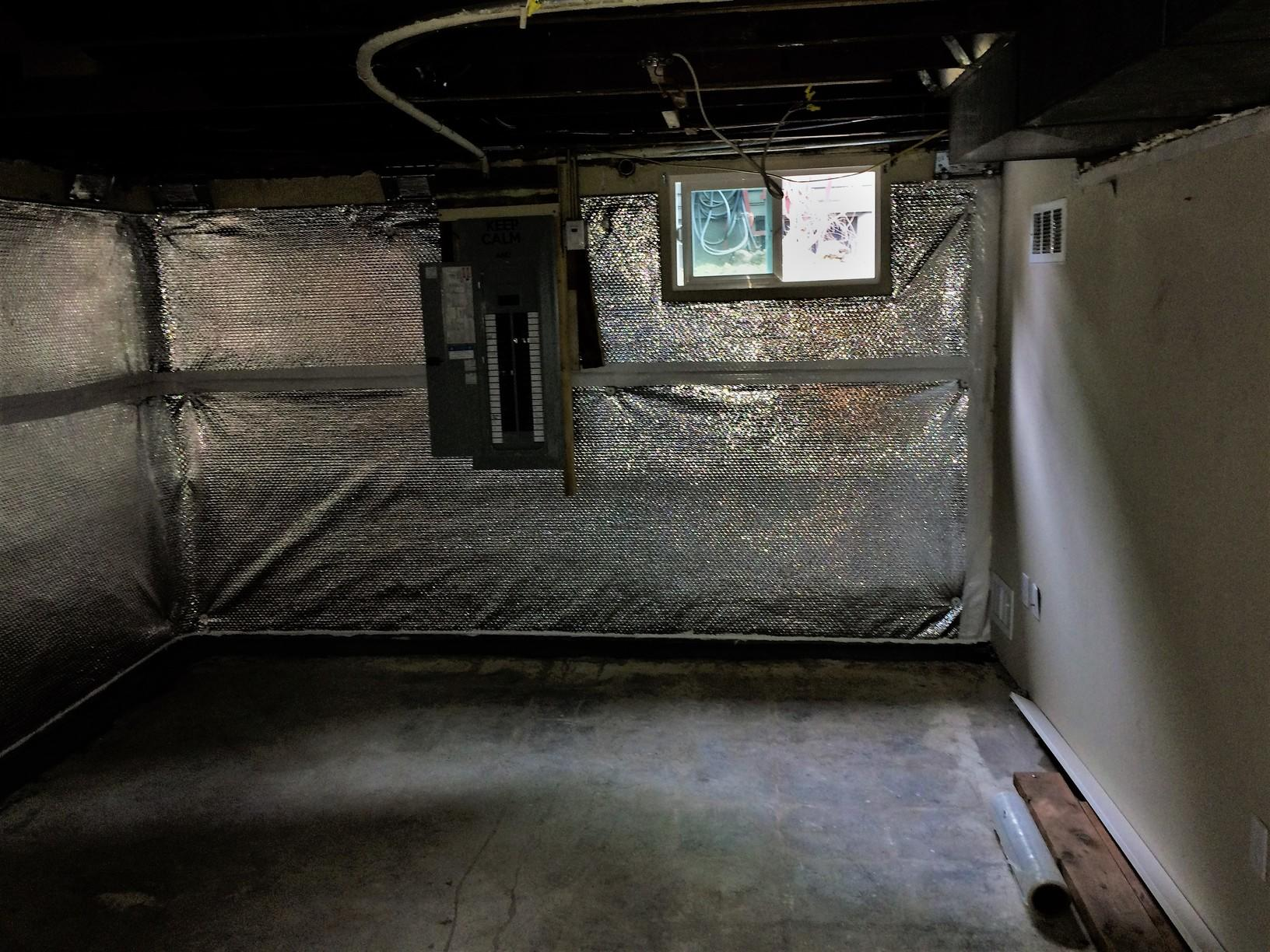 Wet Basement in Sandy, OR - After Photo