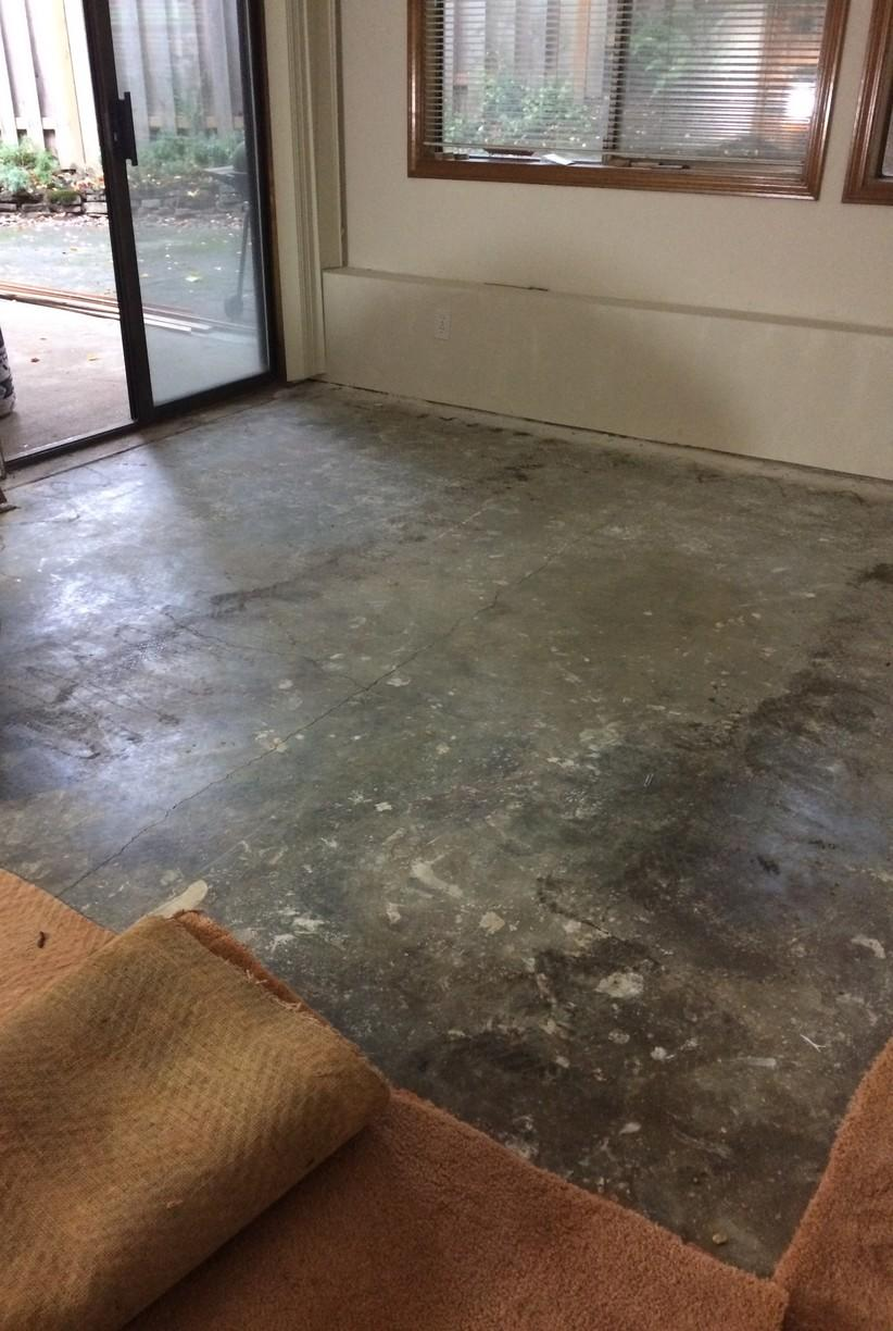 Basement Finishing In Bend, OR - Before Photo