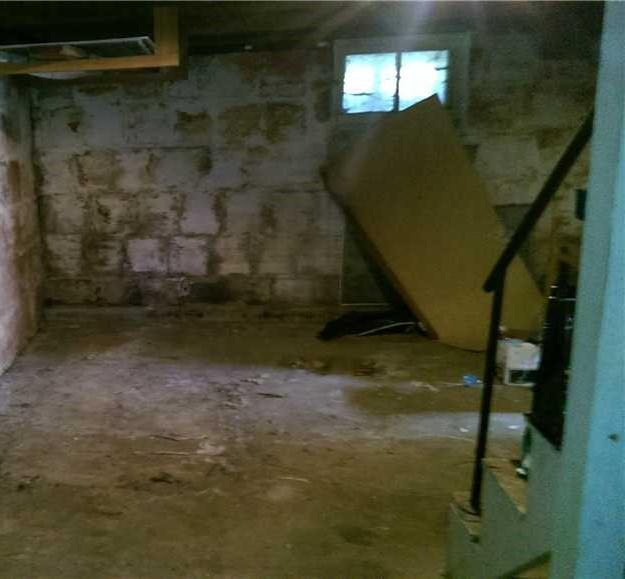 Finished Basement in Sisters, Oregon - Before Photo
