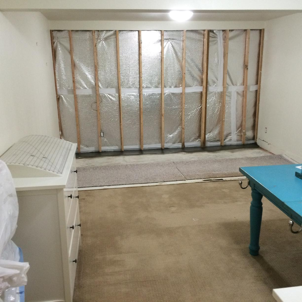 Marylhurst, OR Basement gets Thermaldry Walls Installed - After Photo