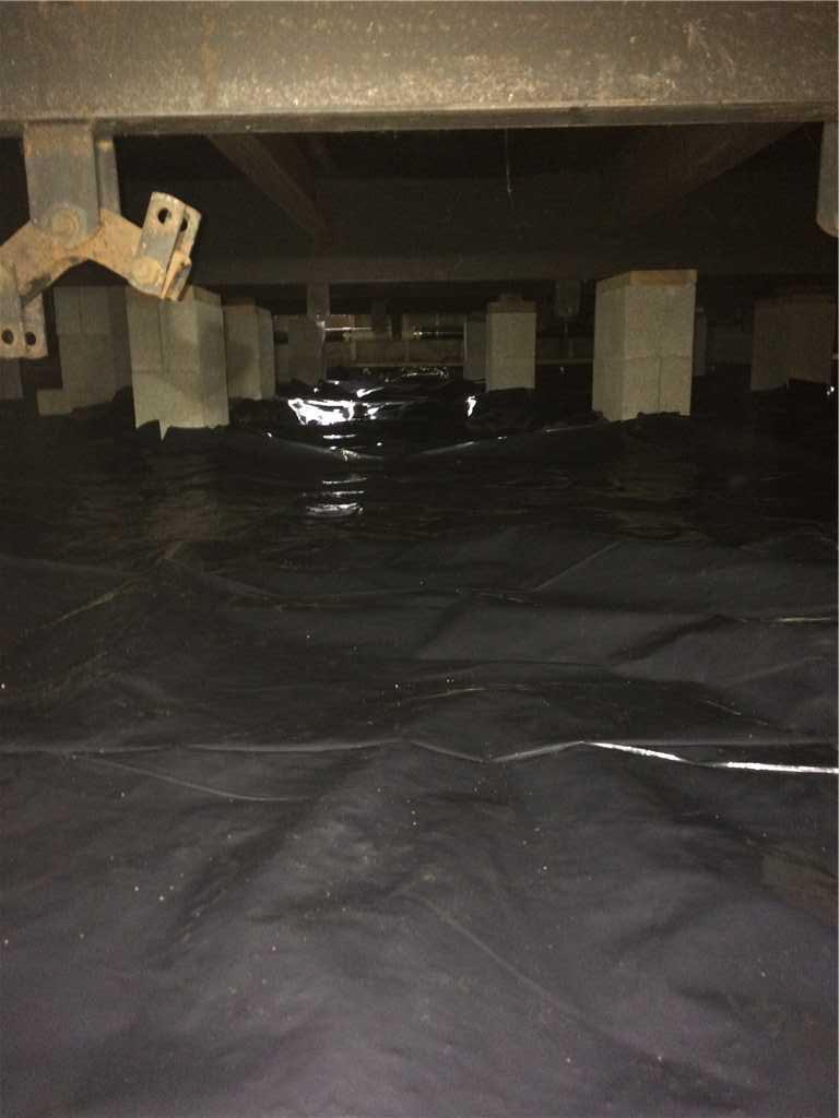 Vapor Barrier Replacement in Eugene, OR - After Photo