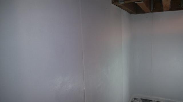 Basement wall leaks