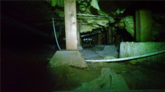 Rotten Crawl Space Posts in Gresham, OR