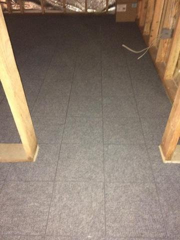 Thermal Dry Flooring in Carlton, OR Basement