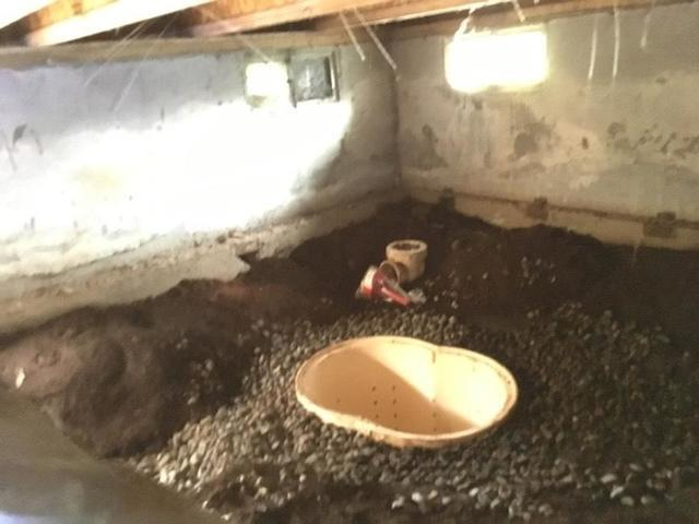 Sump Pump Installed in Yamhill, OR Crawlspace