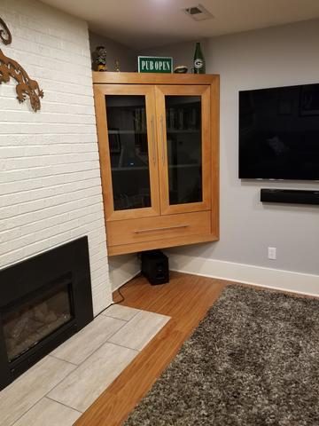 Harrisburg, Oregon Finished Basement Floors