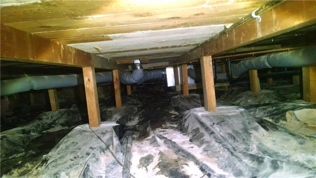 Crawlspace Cleanspace Encapsulation in Rickreall, OR